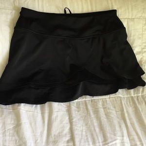 Athleta skort in black. Size small. Running.Tennis
